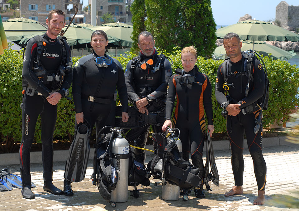 diving montenegro Divemaster diving course