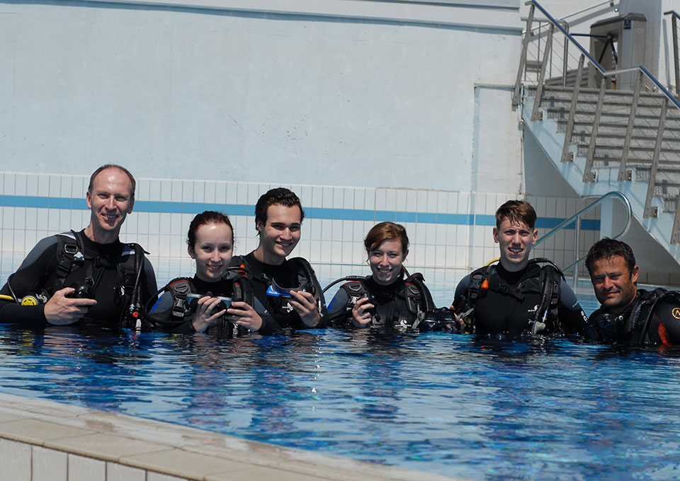 diving montenegro open water diver course