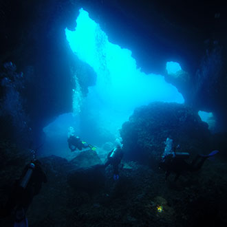 montenegro diving-dive site Cave Slatka Pecina